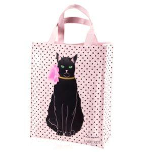 Ladurée Paris Les Secrets Blush Cat Tote Bag